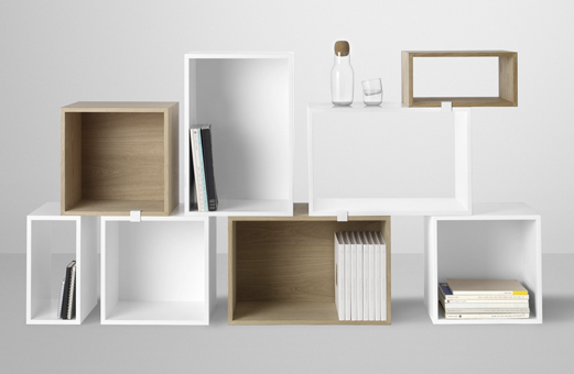 Stacked Shelf System by JDS Architects for Muuto#Repin By:Pinterest++ for iPad#