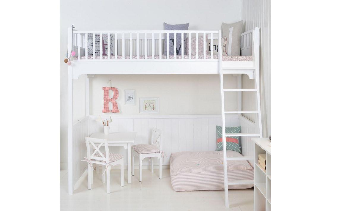 Loft Bed Seaside Collection Danish Design Co Ranjang Tingkat Kamar Tidur Anak Kamar Anak