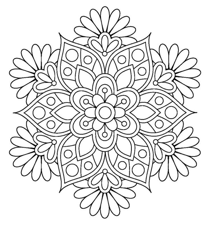 149 Dibujos Para Imprimir Colorear O Pintar Para Ninos Para Ninos Mandalas Para Colorear Mandalas Imagenes De Mandalas