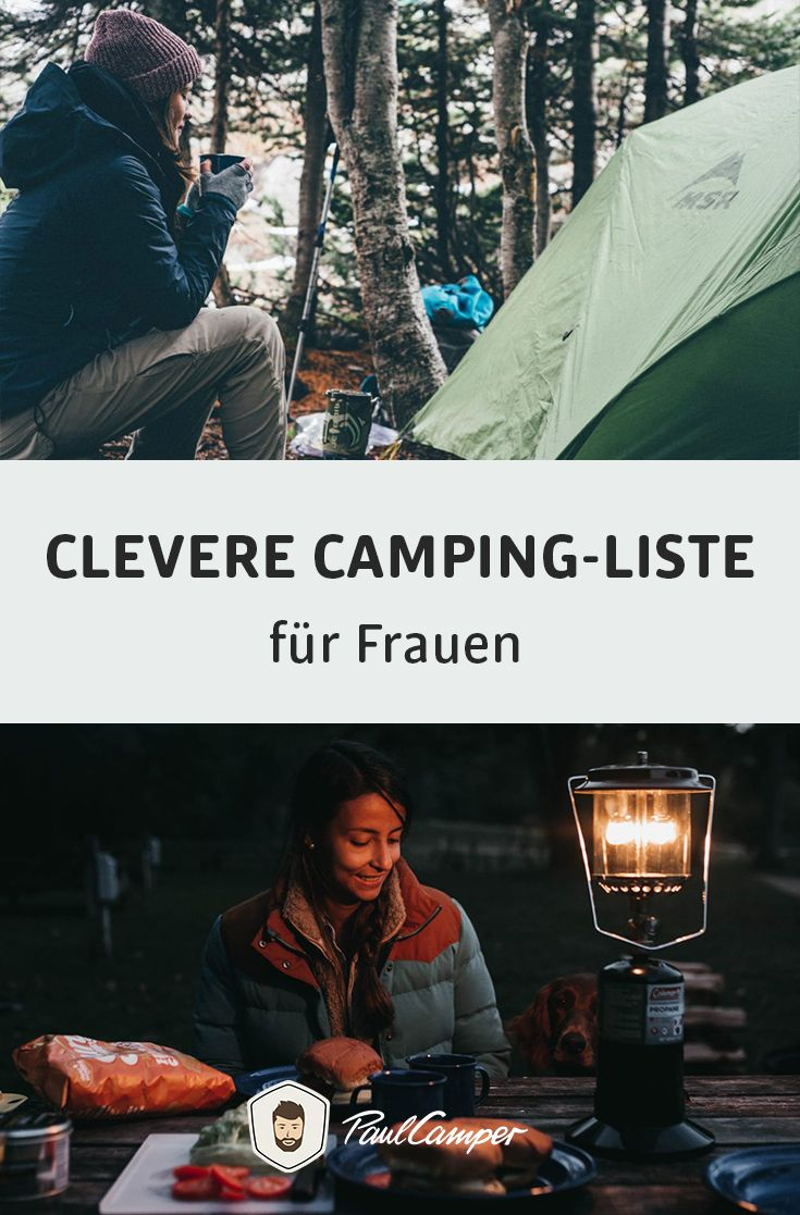 Photo of Clever camping list for women