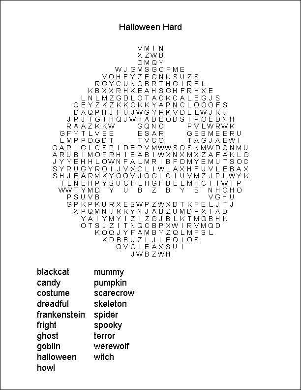 Gallery Worlds Hardest Word Search Printable