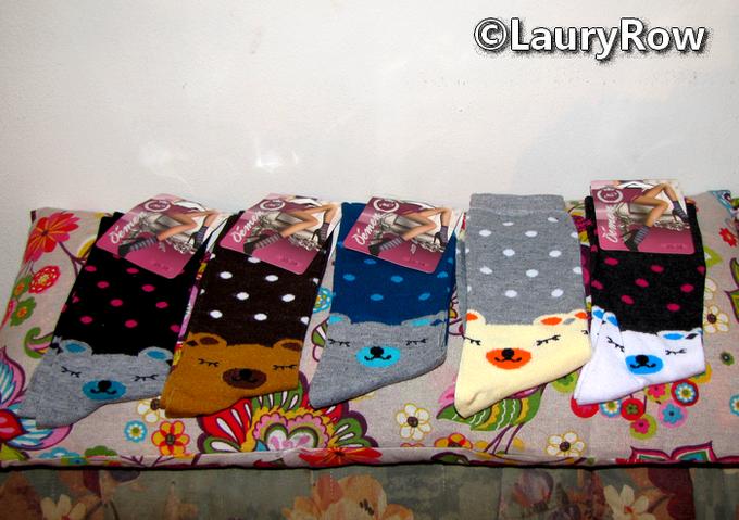 Merci à Maman pour ces 5 paires de chaussettes trop mignonnes ♥♥♥♥♥ eu le 3/12/16*