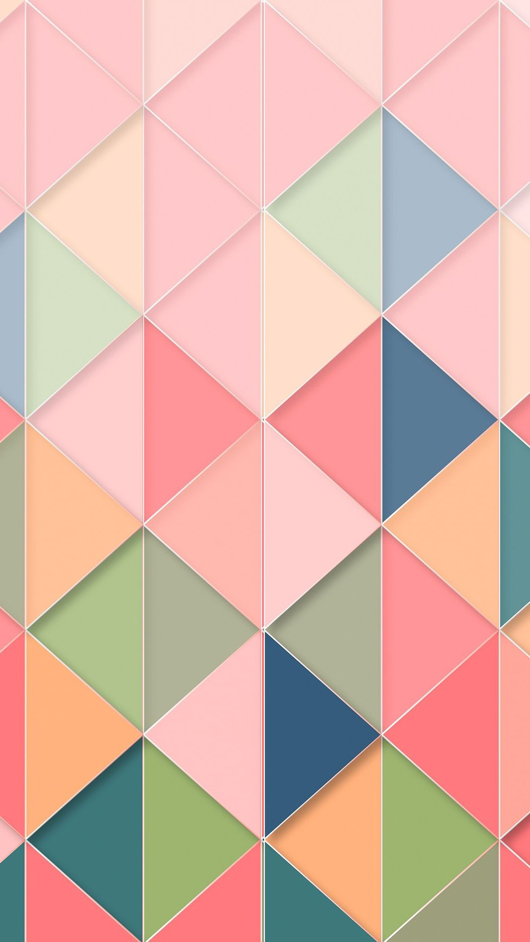 Abstract Wallpaper Triangle Pattern