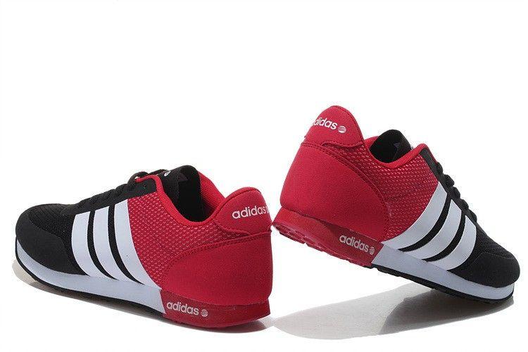zapatilla adidas roja