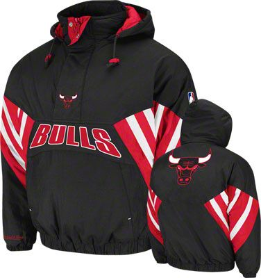 online store 18f86 da101 Chicago Bulls Mitchell   Ness Vintage Flashback Pullover Jacket  159.99