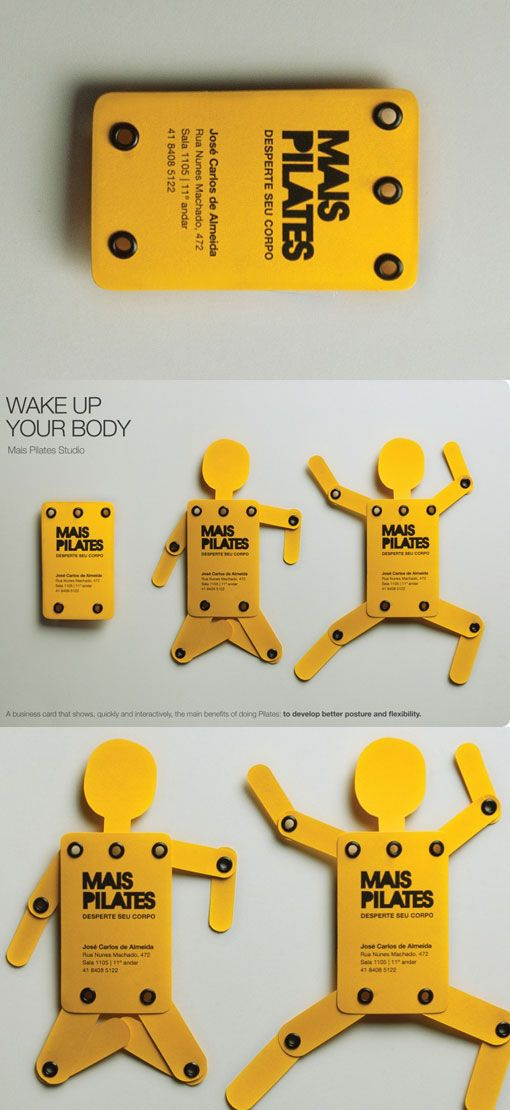50 Unusual and Brilliant Business card designs and ideas for you - tarjetas creativas