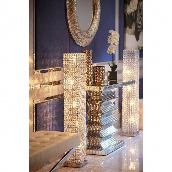 Crystal Tower Floor Lamp Value City Furniture And Mattresses Cityfurniture