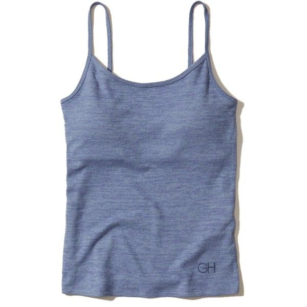 f0867c09aca Hollister Sleep Cami With Removable Pads ( 20) ❤ liked on Polyvore  featuring intimates