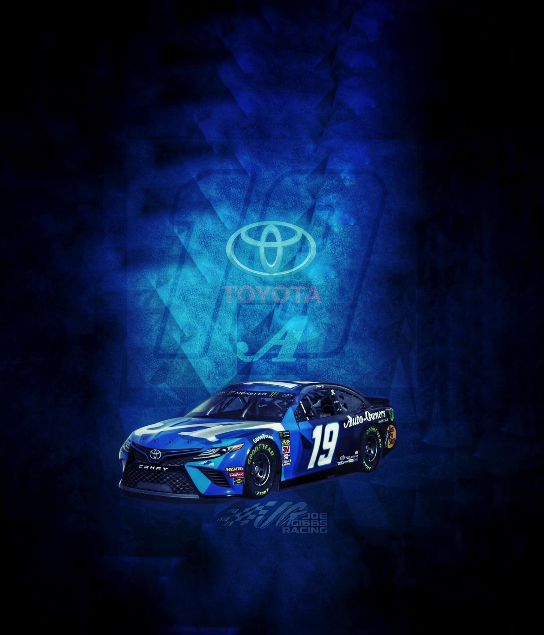 Truex Jr 19 Wallpaper By Jonathan Ray Click On 3 Dots Above Photo To Download Truex Jr Martin Truex Jr Nascar Race Cars