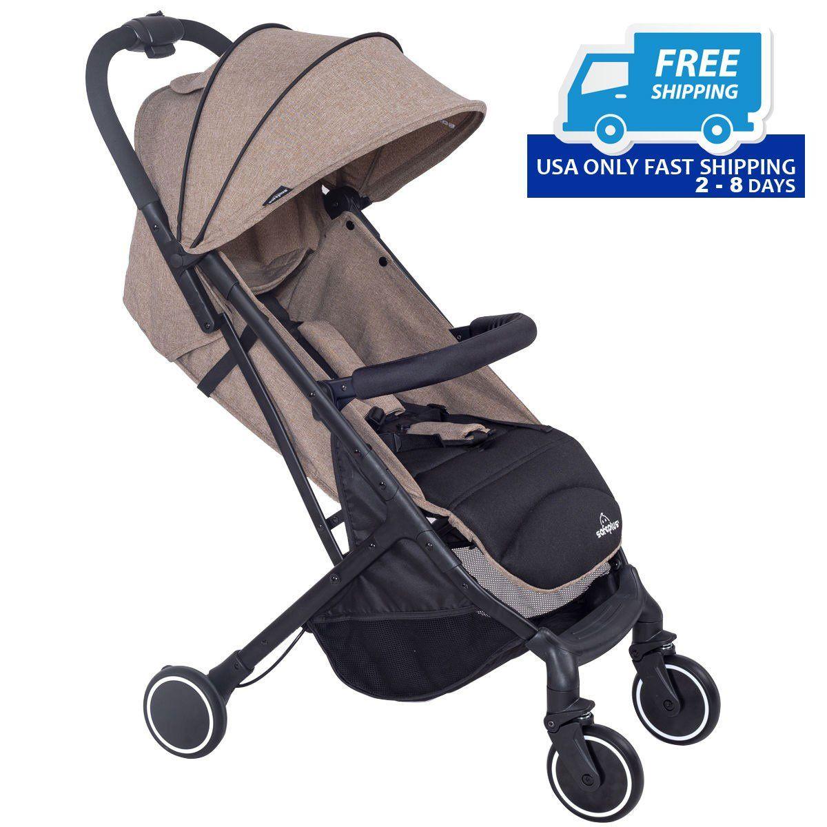 Foldable Lightweight Baby Travel Stroller Travel