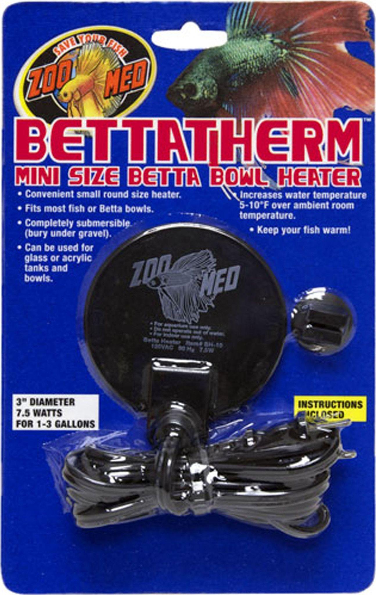 Bettatherm Mini Size Betta Bowl Heater fish and things
