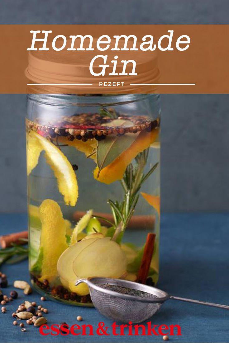 Rezept: Homemade Gin
