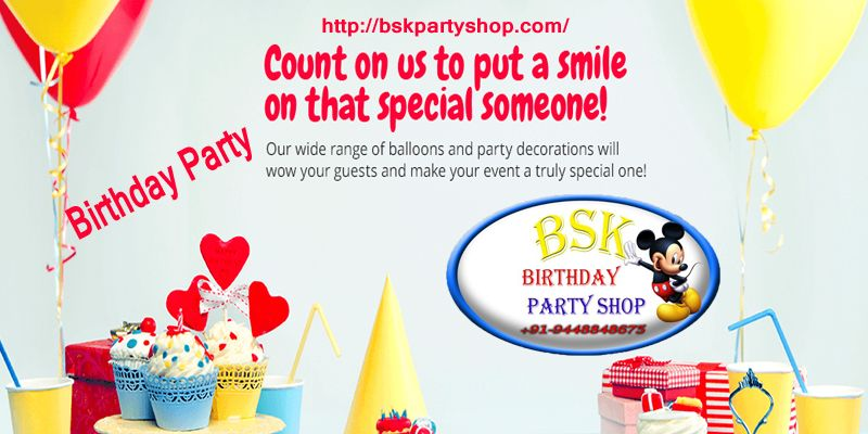 Best Birthdayparty Items Shops In Bangalore Check Tomorrow Offers Here Birthday Party DecorationsBirthday Decorations