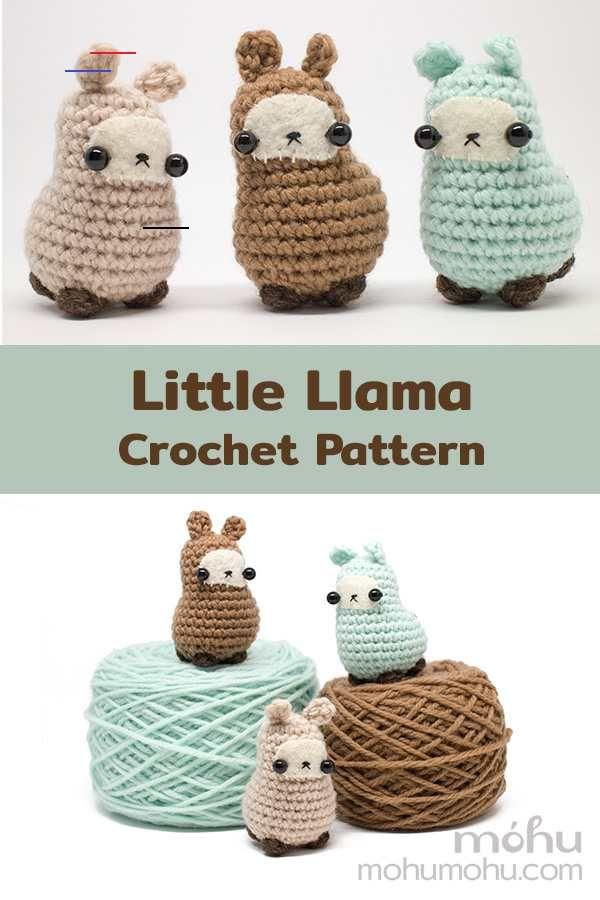 A New Amigurumi Llama Pattern - #crochet - Crochet your own little llama (or alpaca) with my new amigurumi llama pattern...