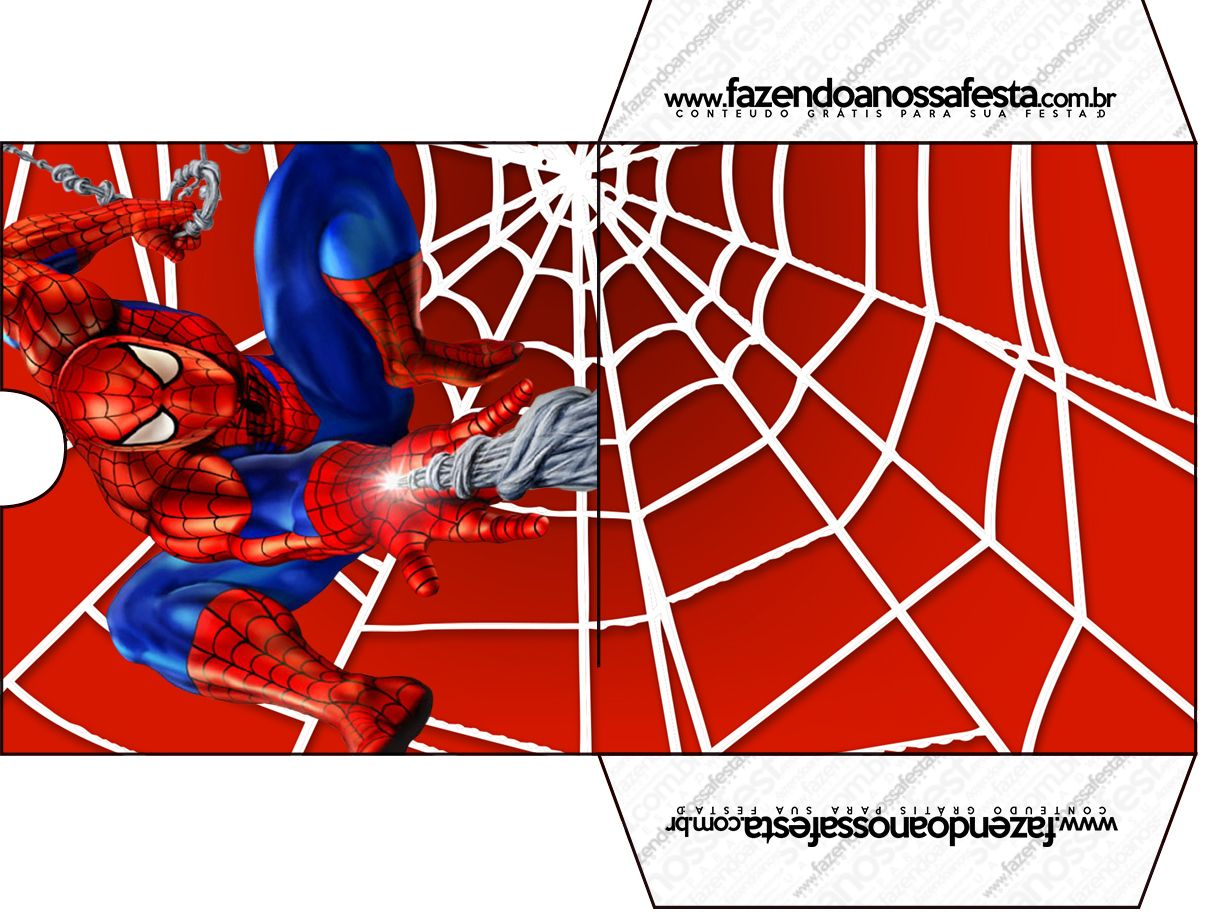 KIT-FNF-2-homen-aranha_43 | spiderman | Pinterest | Spiderman and ...