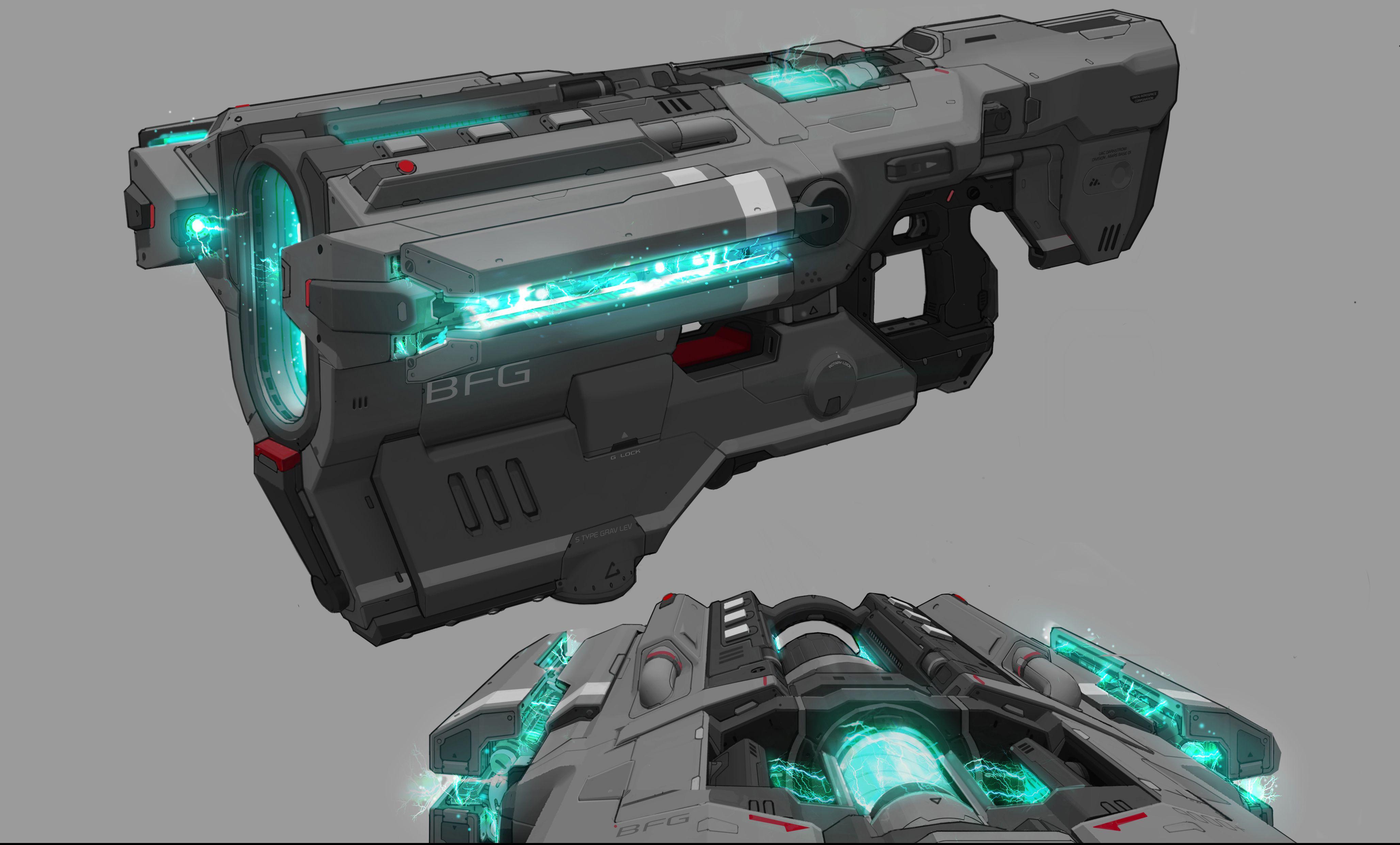 The Art of DOOM – Weapons | Bethesda.net