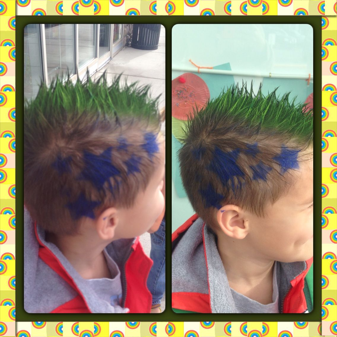 Crazy Hair Day Preschool School Hair Color Boy Crazy Hair Crazy