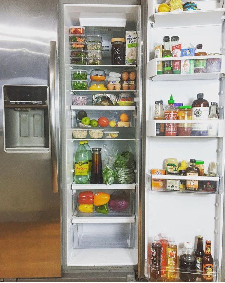 Clean eating  fridge goals