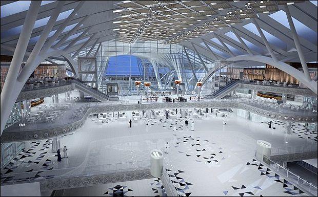 Saudi Arabia S New Look Airport Architecture Agenda Phaidon Architecture Airport Design Futuristic Architecture