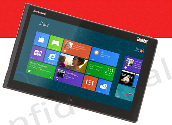 Lenovo's Windows 8 bearing ThinkPad Tablet 2 goes for some