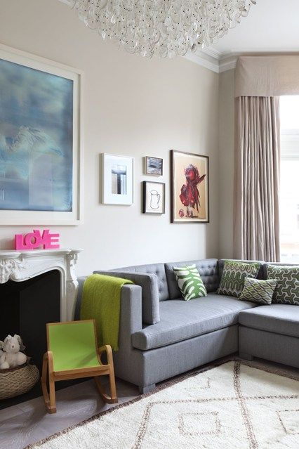 Contemporary And Kid Friendly Family Friendly Living Room Family Room Design Home Living Room