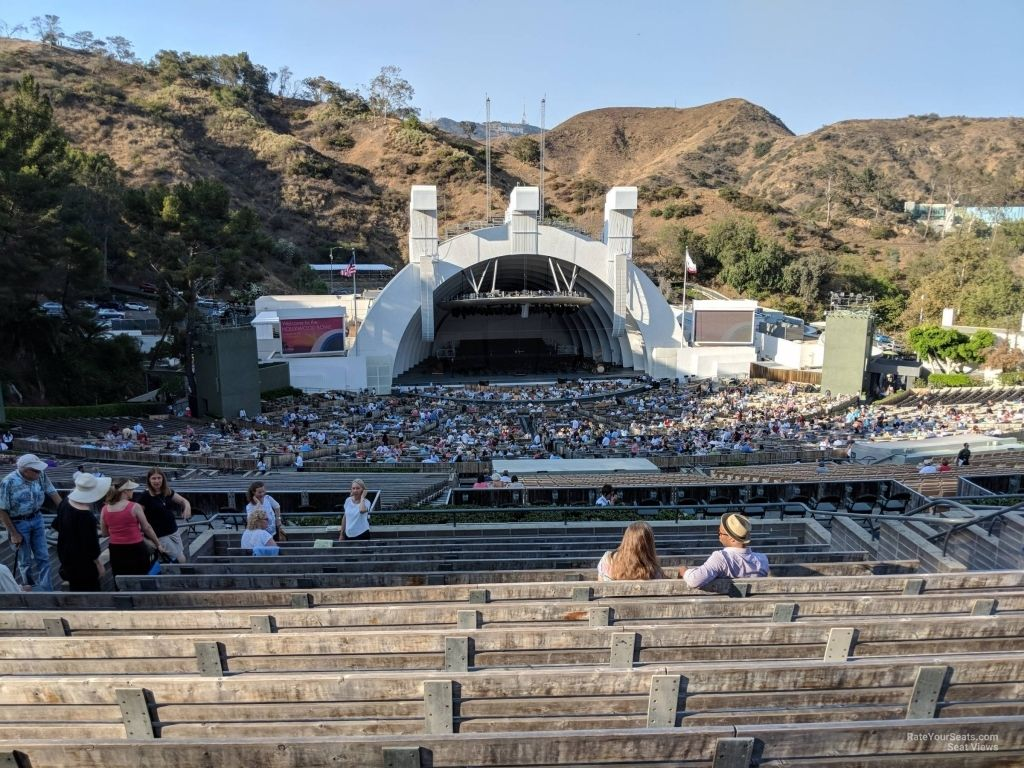 The Stylish Hollywood Bowl Seating Chart View