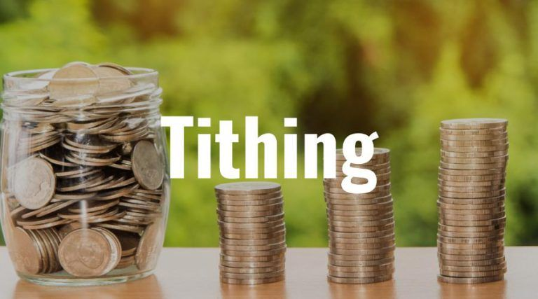 how to tithe correctly on business