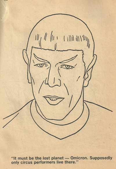 The Best Scenes From Insane Old Star Trek Coloring Books | Star trek ...