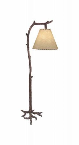 Tree Bark Floor Lamp