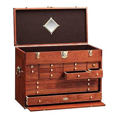 Gerstner C2613 American Cherry Wood ProSeries Chest -- You