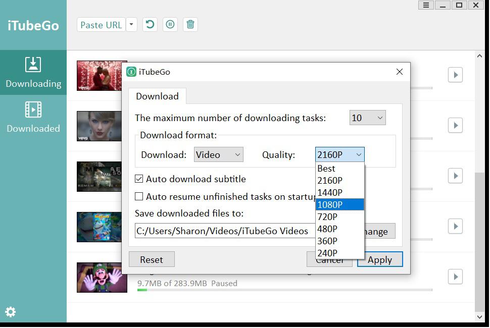 Convertidor de YouTube a MP4 descarga gratuita de YouTube