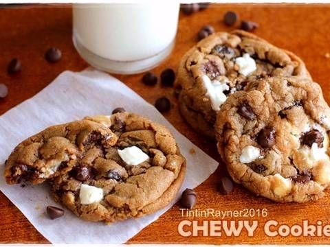 Resep Chewy Chocolate Cookies Ala New York Times Trial 1 Oleh Tintin Rayner Resep Kue Coklat Resep Kue Kering