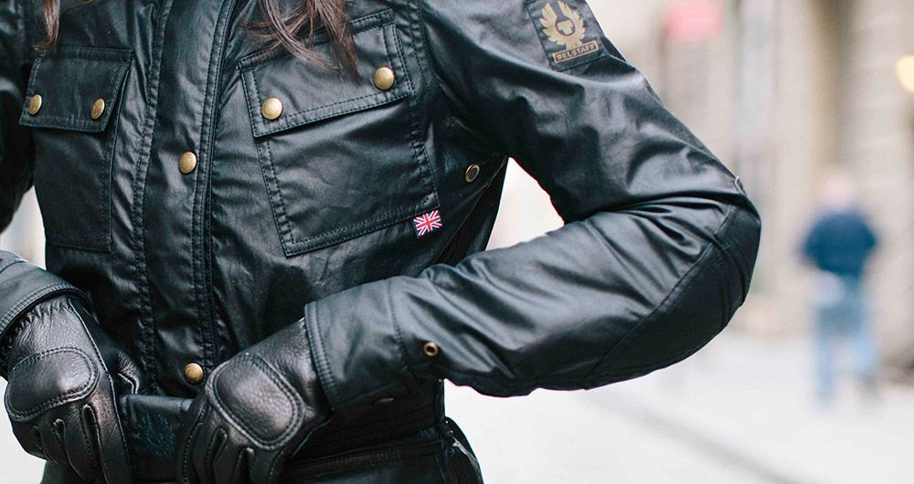 c14b2660b3b The Belstaff Trialmaster Classic Tourist Trophy Ladies Jacket | Belstaff's  Pure Motorcycle Collection | Union Garage NYC