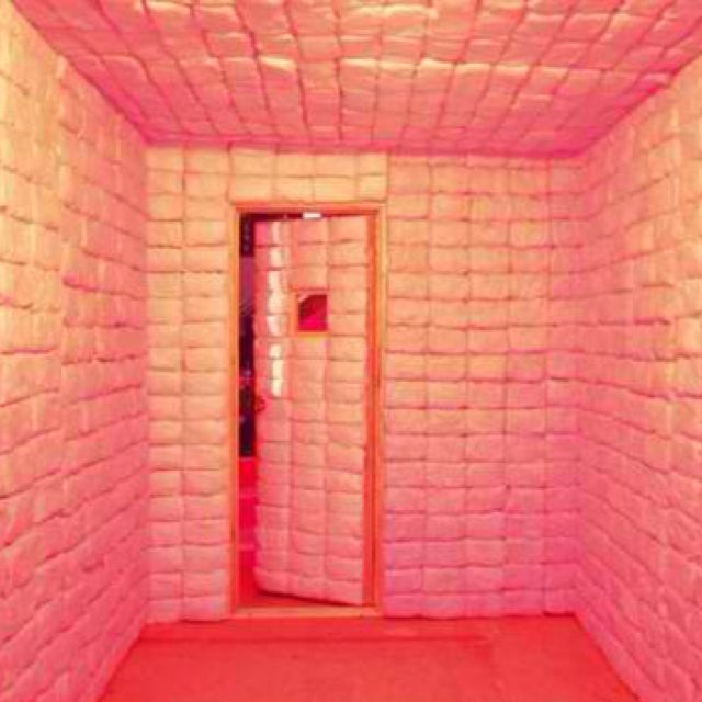 I Am Crazy For This Cotton Candy Pink Padded Cell Candy Room Pink Cotton Candy Candy House