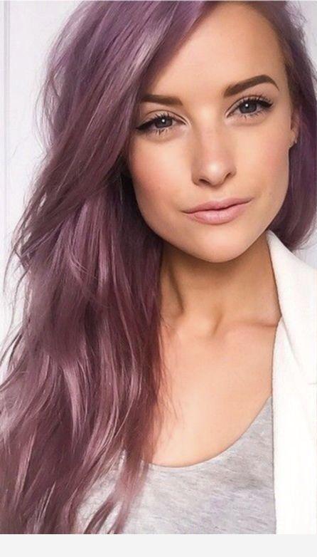 Пепельно розовый цвет волос фото звезд первом