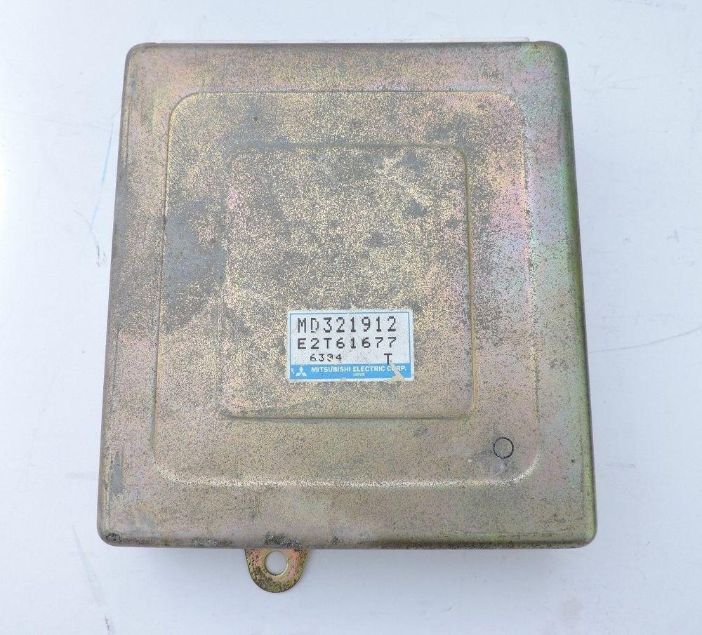 Details About Oem 95 Mitsubishi Eclipse Gs T 20l L4 Dohc Turbo 2003 Ecu Location 99 Talon Engine Control Md321912 Module Ecm 4g63