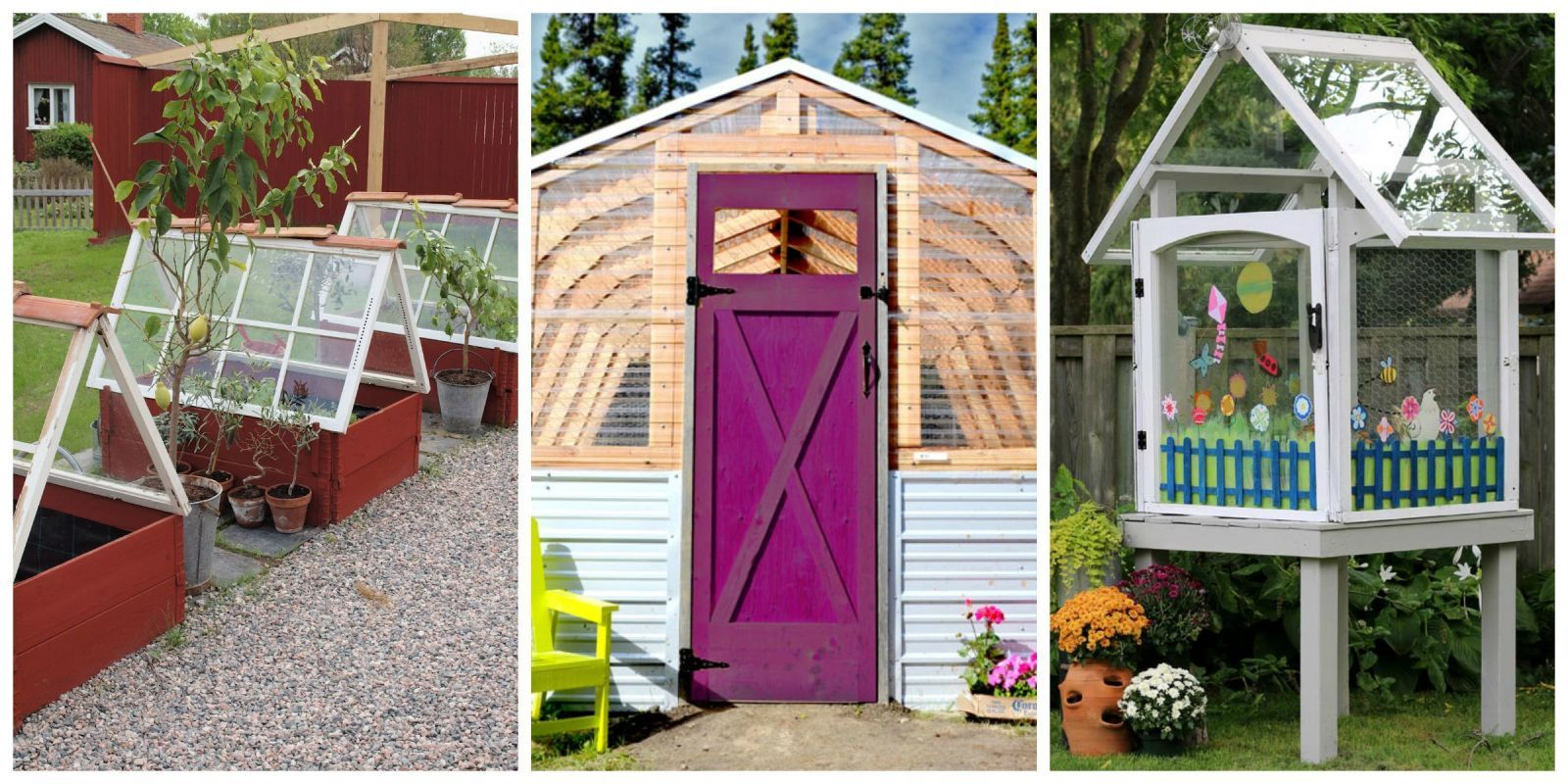 12 DIY Greenhouses That Will Beautify Your Backyard   CountryLiving.com