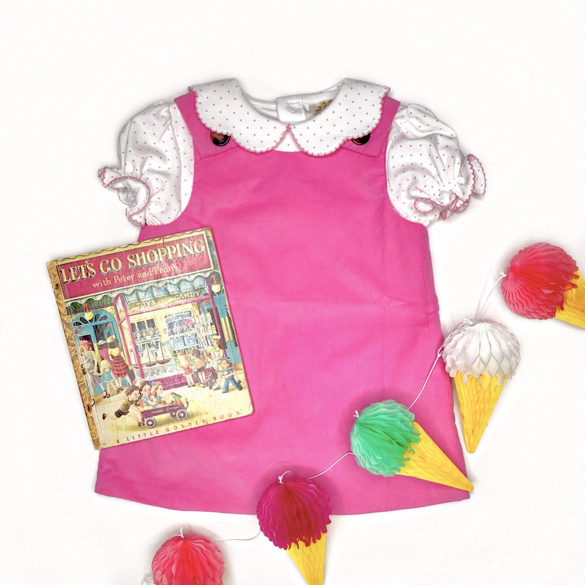 ad10baa74 Juliet Jumper - Hamptons Hot Pink Corduroy - The Beaufort Bonnet ...