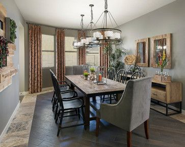 Torrey Pines Plan at Victoria | Phoenix, AZ - transitional - dining room - phoenix - Meritage Homes