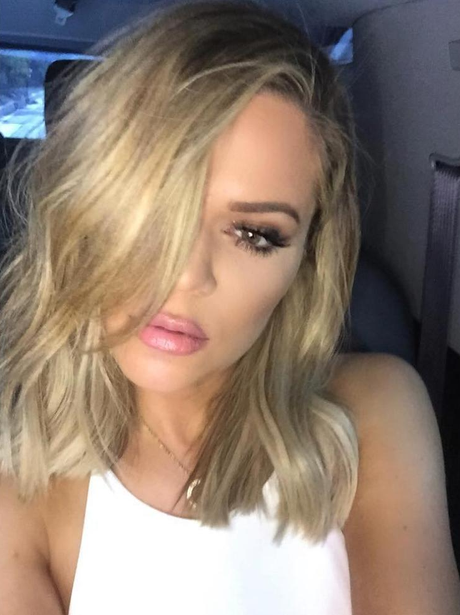 Khloe Kardashian New Hair Dont Care Blonde Instagram Mirror