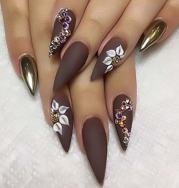Luxury Affair Nails Designe 2018