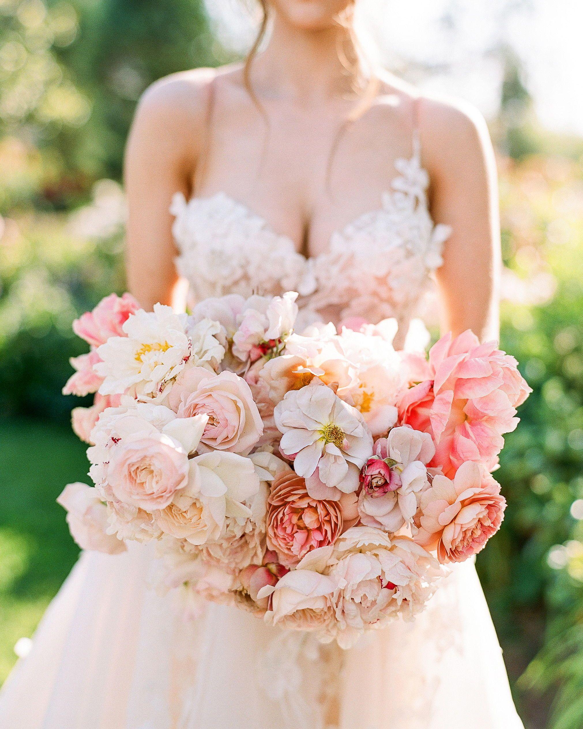 25 ultraromantic peony wedding bouquets silk wedding