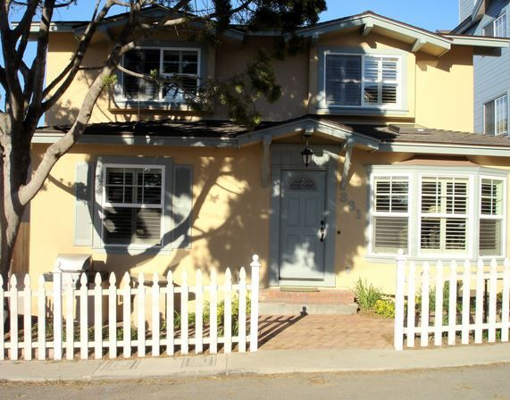 The front view of our 6 bedroom - 5 bath vacation rental in Pismo Beach!