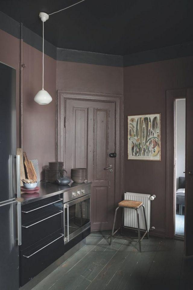 Photo of Et stilig mørkt hjem i København (Gravity Home)