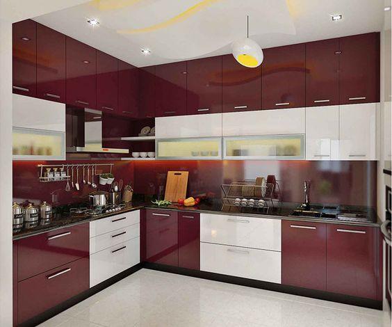 Cocinas Combinadas En Dos Colores Diseno Cocinas Modernas