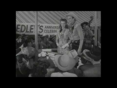 """Roy Rogers & Dale Evans - """"The Nerve of Some People"""" (from Lights of Old Santa Fe {1944})"""