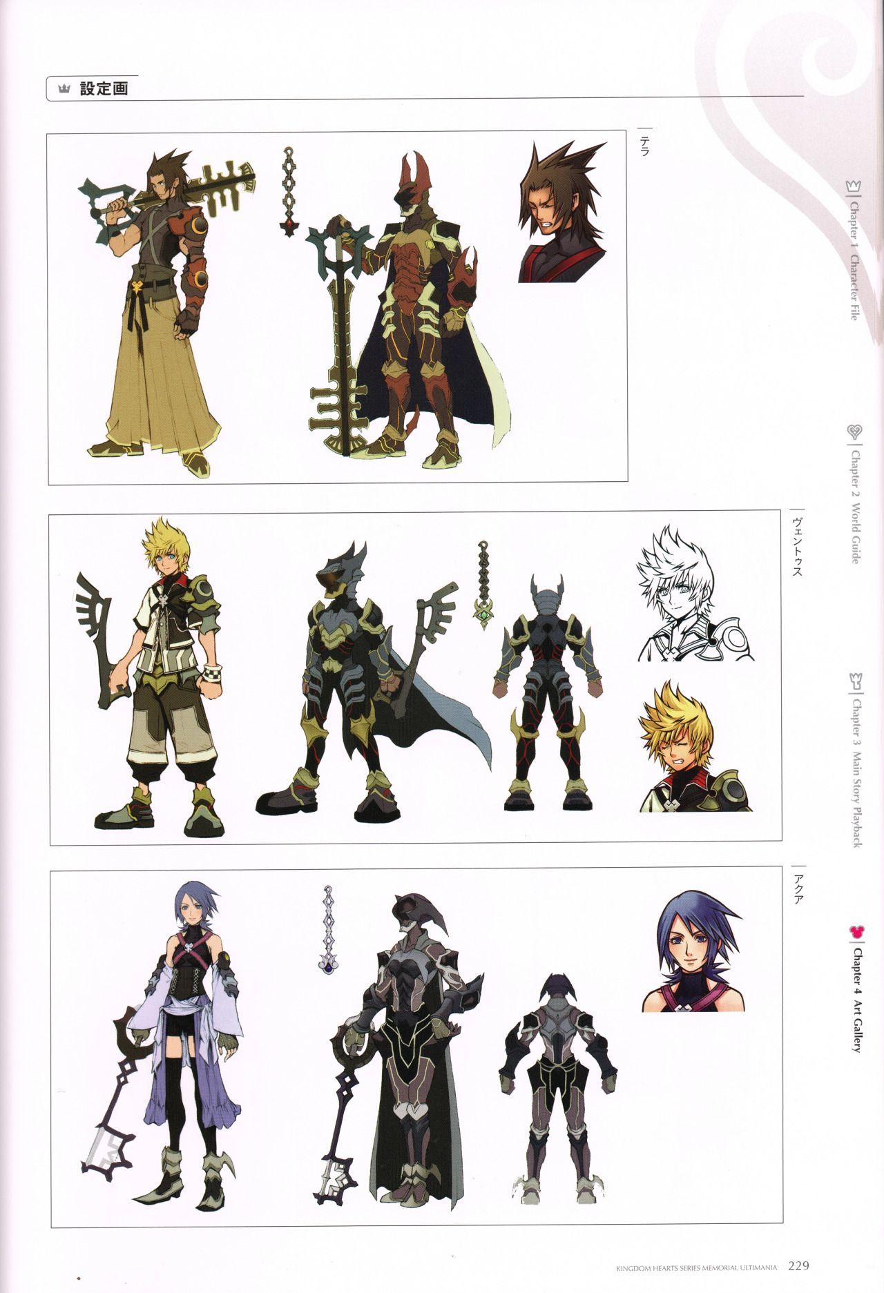 "khinsider: "" The Kingdom Hearts Series Memorial Ultimania released"