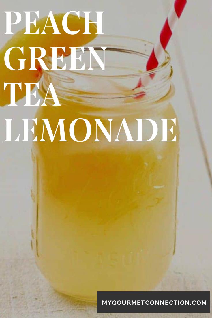 Photo of Peach-Green Tea Lemonade