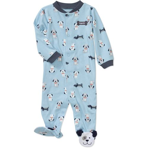 Child of Mine by Carters Newborn Boys Puppy Print Sleep n