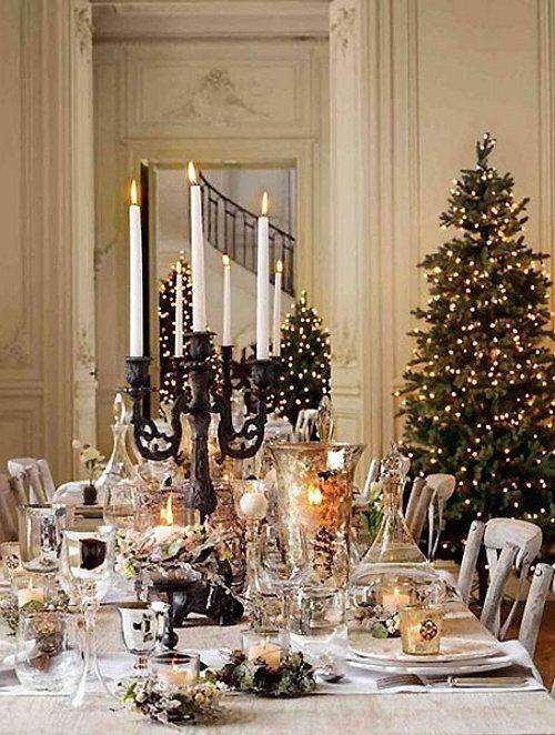 Christmas Table Christmas Table Decorations Elegant Christmas Christmas Table Settings
